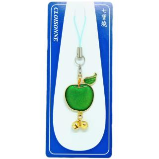hard enamel charm | hard enamel pins | cloisonne apple charm
