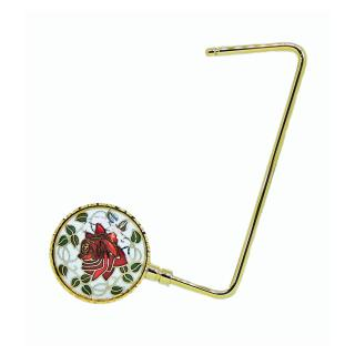 purse hook | purse hanger | cloisonne purse hanger